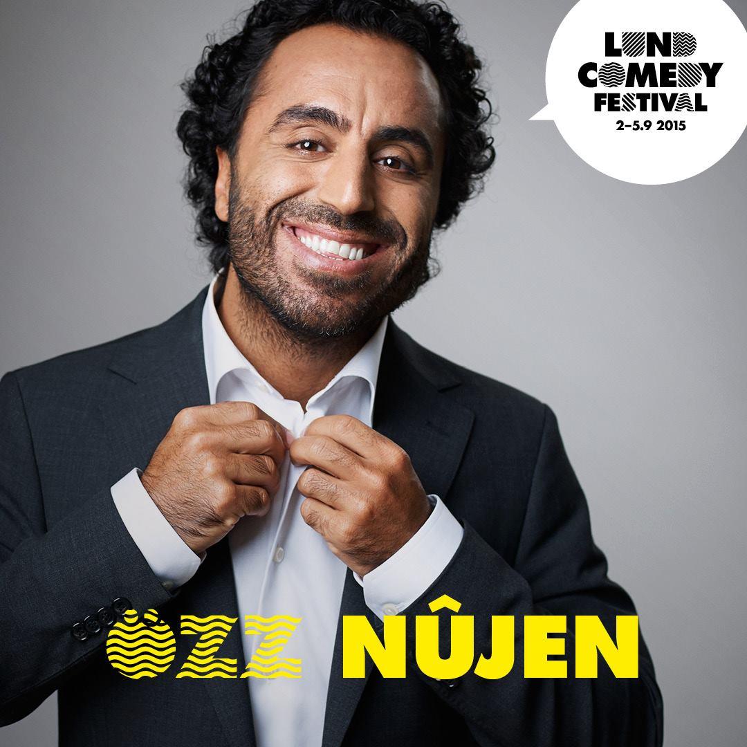 Özz Nujen kommer till Lunds humorfestival 2015