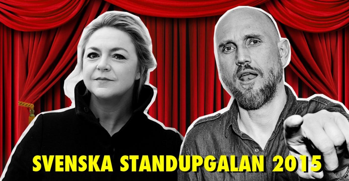 Snart dags för svenska Standupgalan
